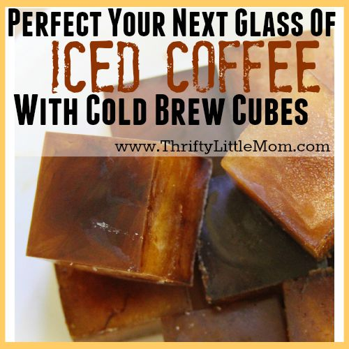 Perfect Your Next Glass of Iced Coffee with Cold brew cubes