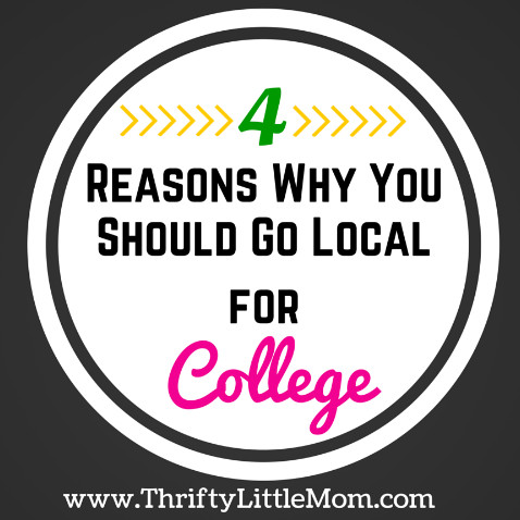 Reasons Why You Should Go Local For College