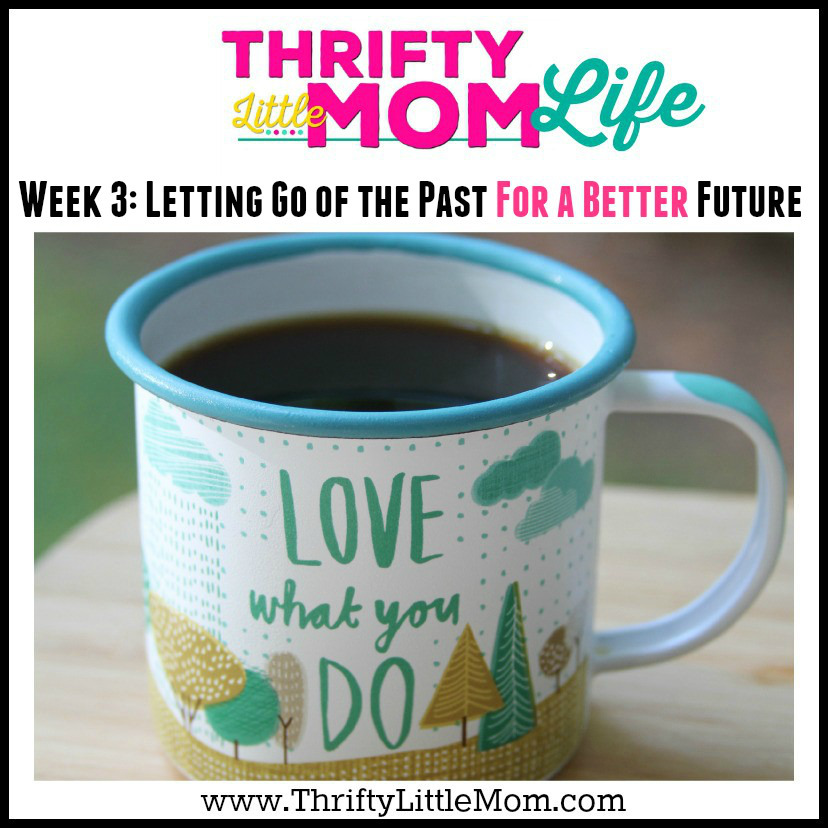 Thrifty Little Mom Life Week 3 Letting Go of the Past