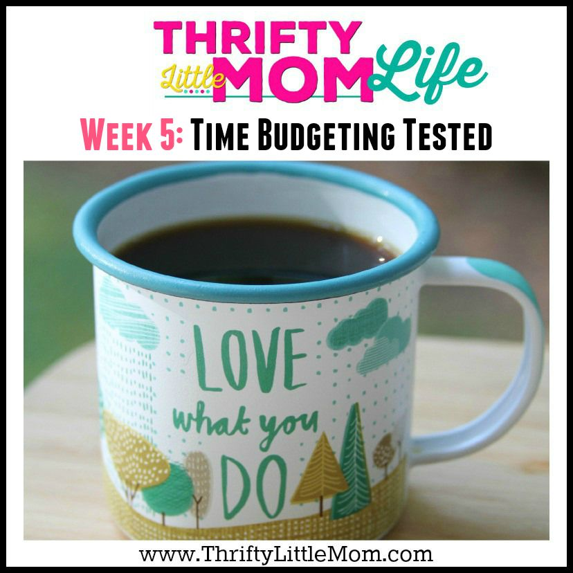 Thrifty Little Mom Life: Time Budgeting Tested