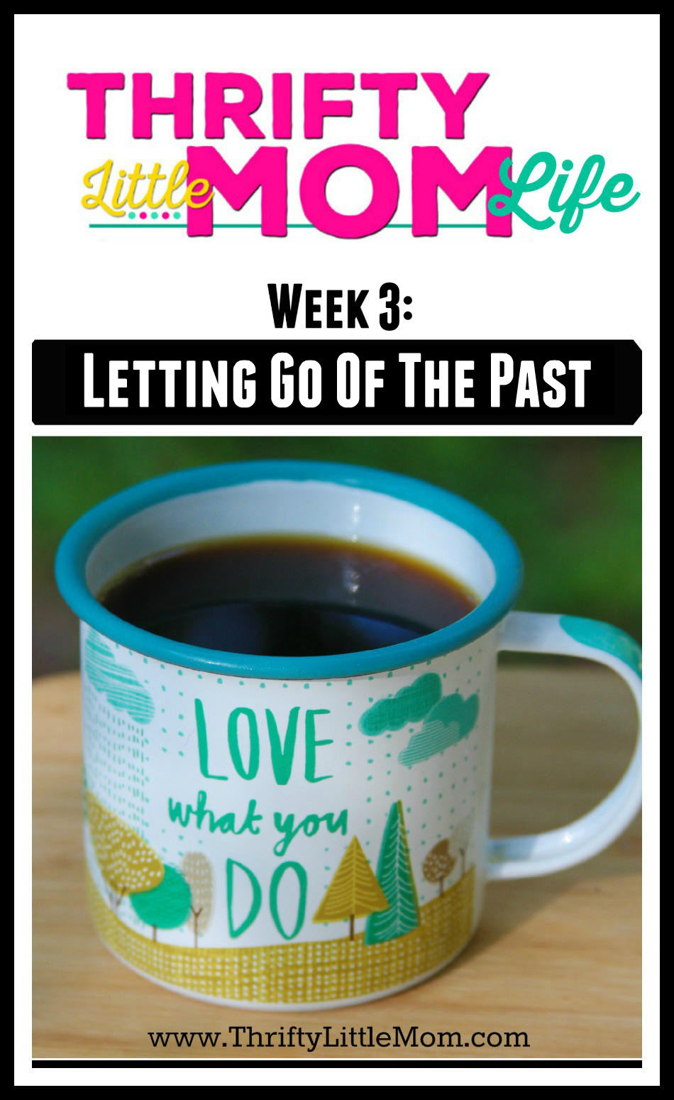 Thrifty little Mom Life Week 3 Letting go of past