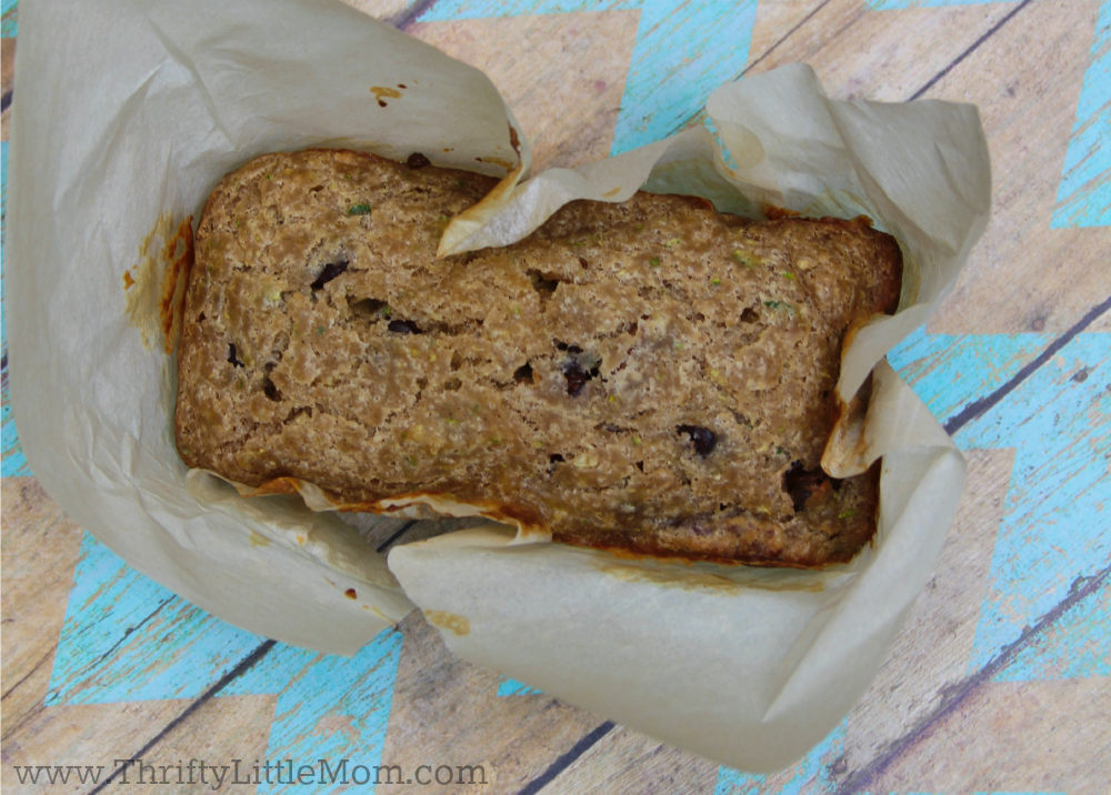 Zucchini Bread Chocolate Chip