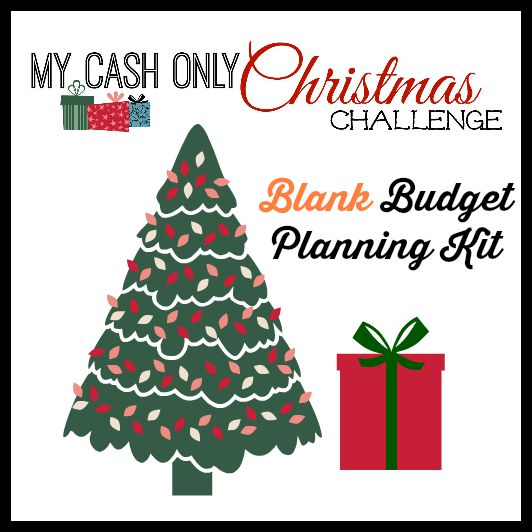 My Cash Only Chrismtas Blank Planning Kit Image