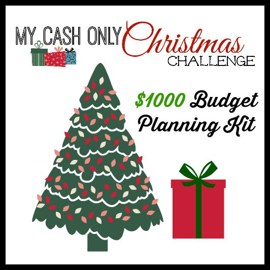 My Cash Only Christmas $1000 Planning Kit