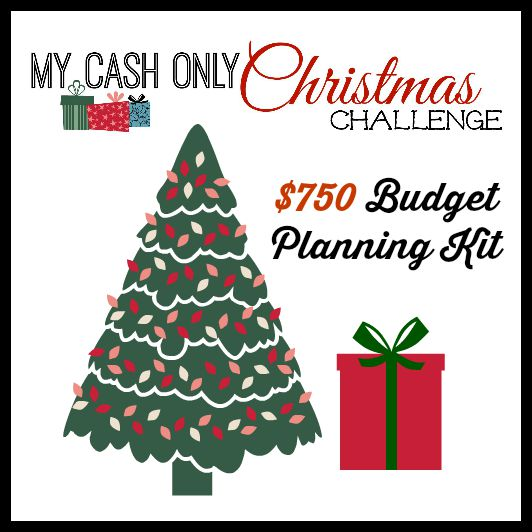 My Cash Only Christmas $750 Planning Kit