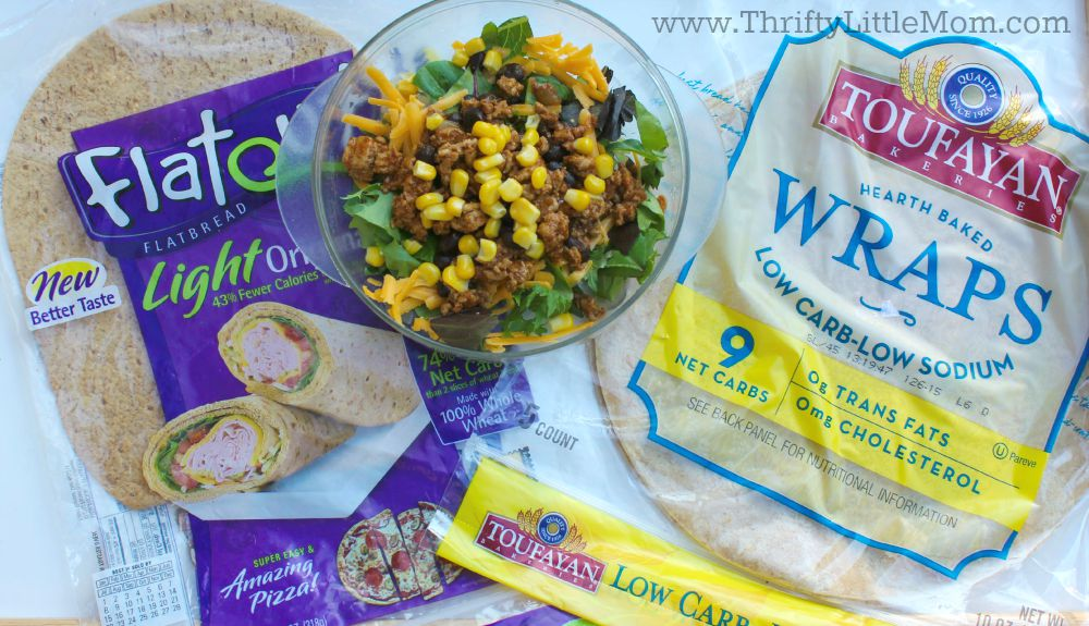 Wraps For Brown Bag Lunches