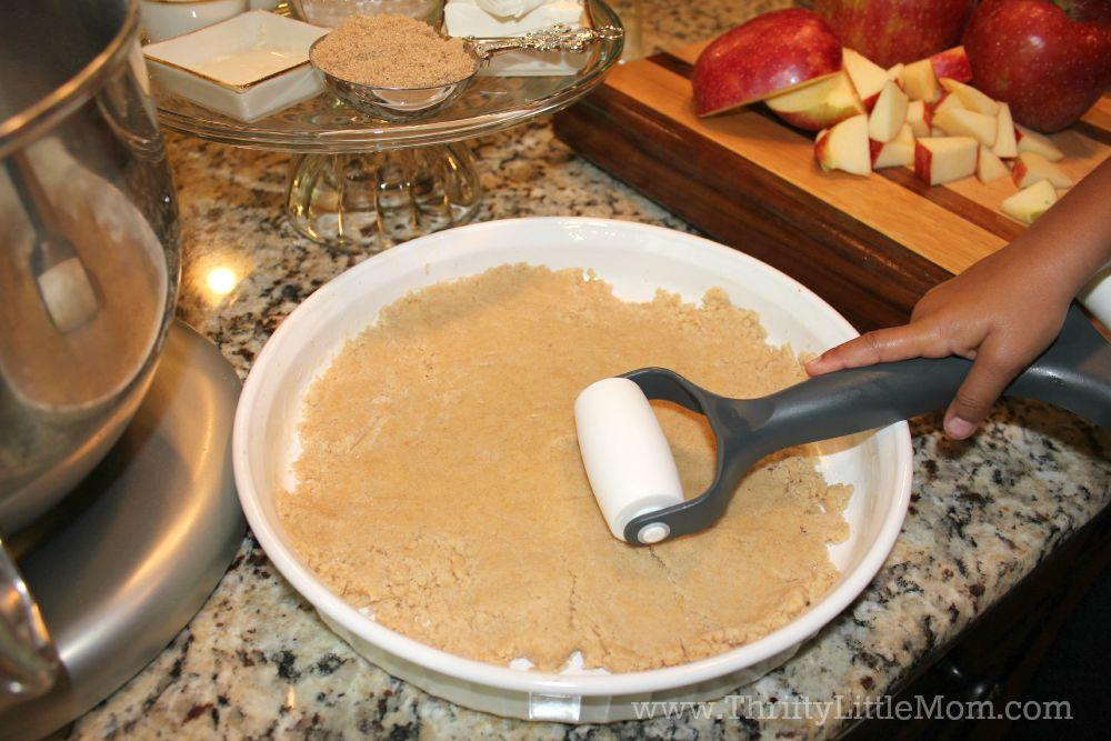 Apple Crumble Bake Crust