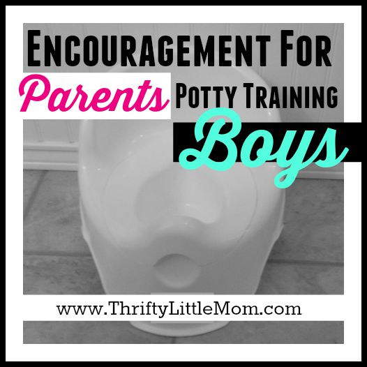 Encouragement for Parents Potty Training