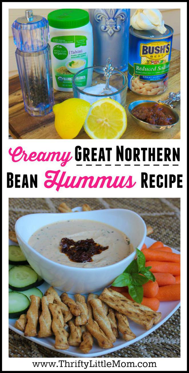 Great Norther Bean Hummus Recipe