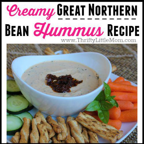 Creamy Great Northern Bean Hummus