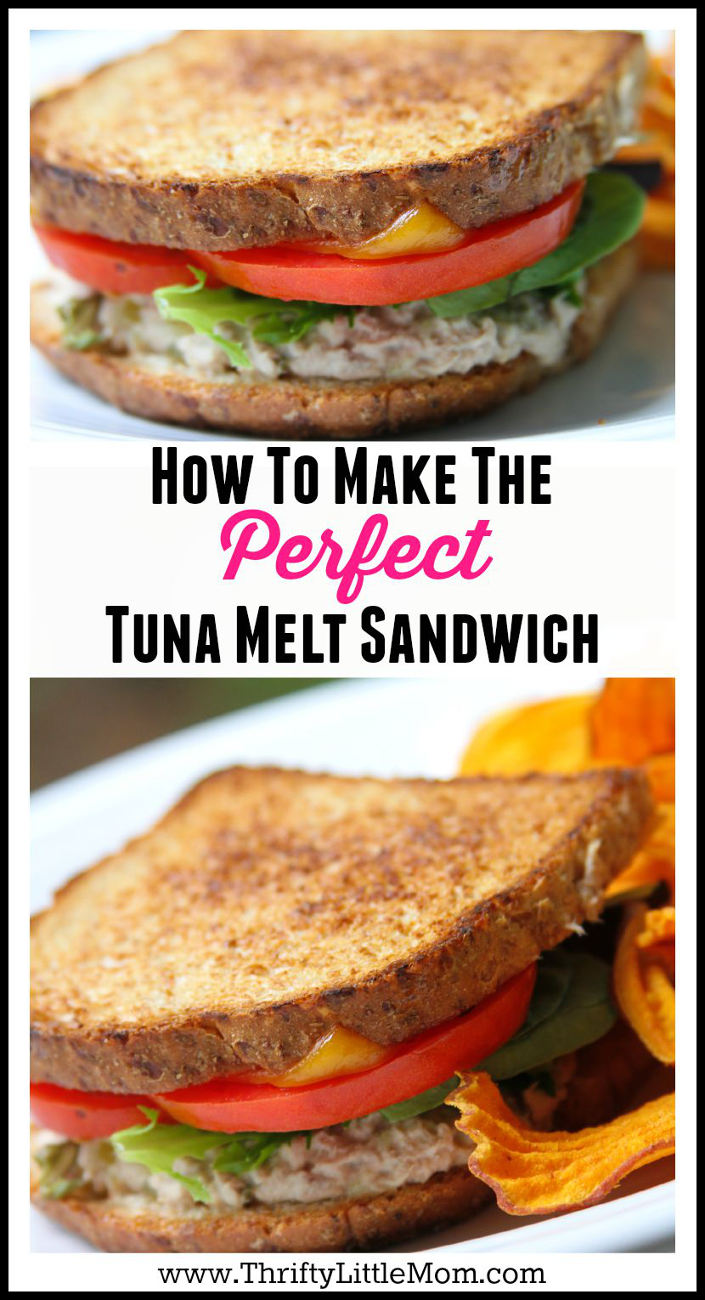 How to Make the perfect Tuna Melt Sandwich