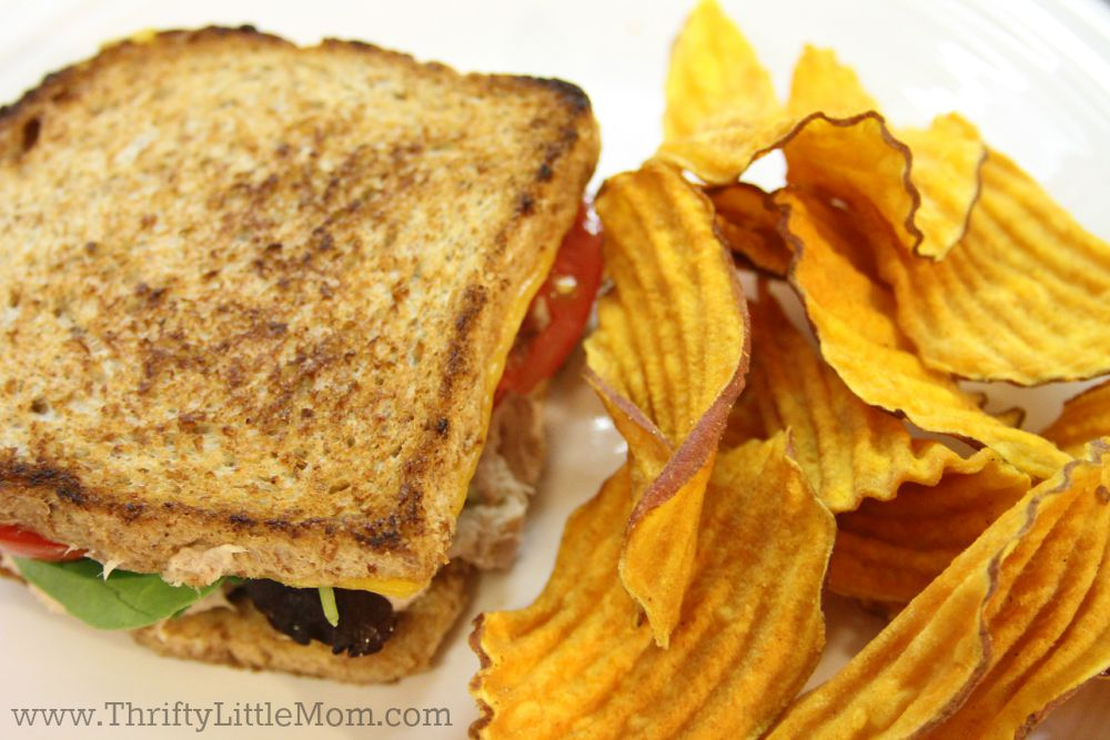 How to make the perfect tuna melt sandwich with chips
