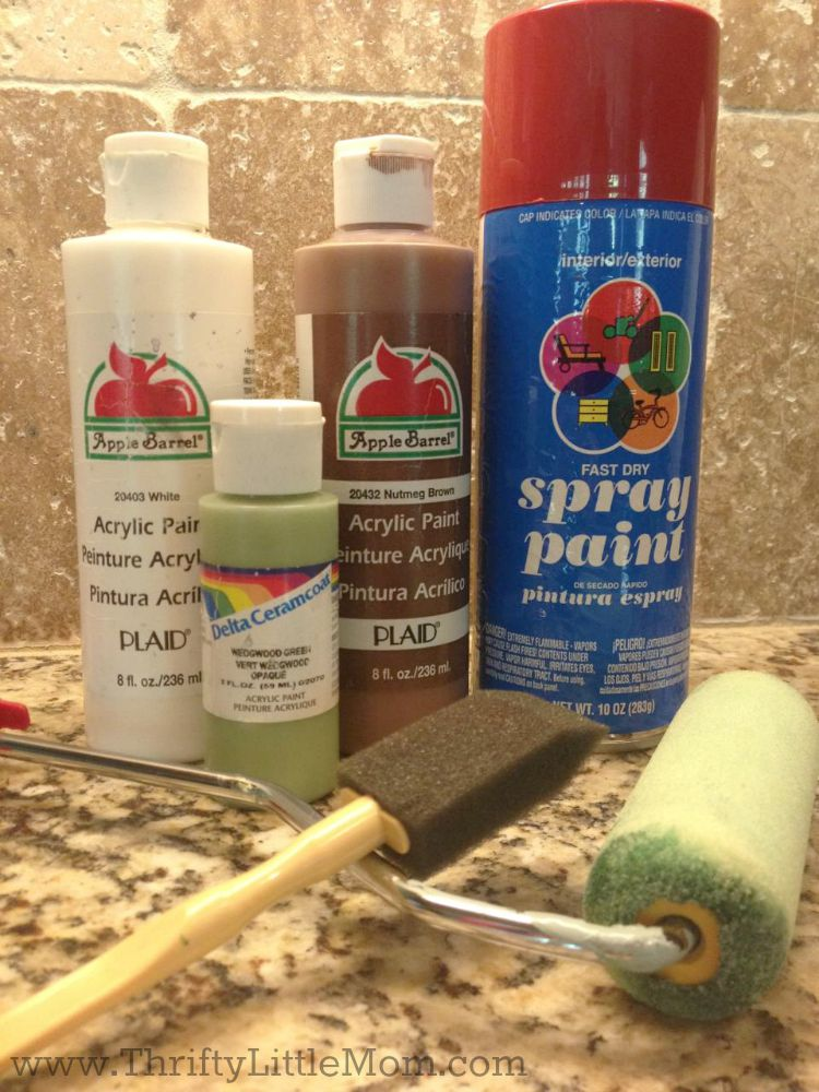 Outdoor Rug Paint supply