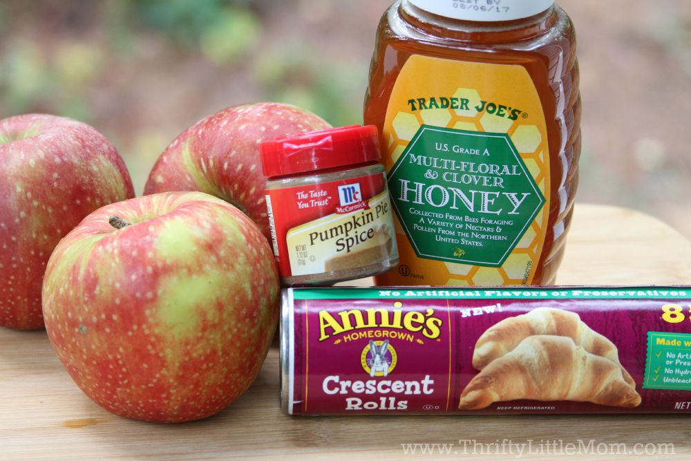 Quick & Easy Homemade Apple Turnover Ingredients