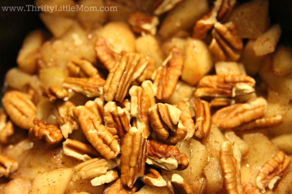 Quick & Easy Homemade Apple Turnover Pecans