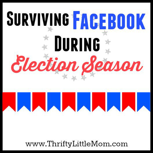 Surviving Facebook During Election Season