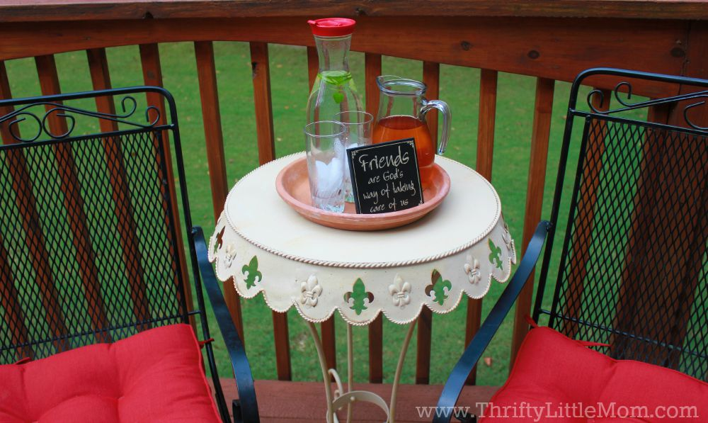 Thrifty Deck Makeover