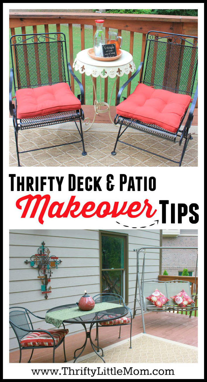Thrifty Deck and Patio Makeover Tips