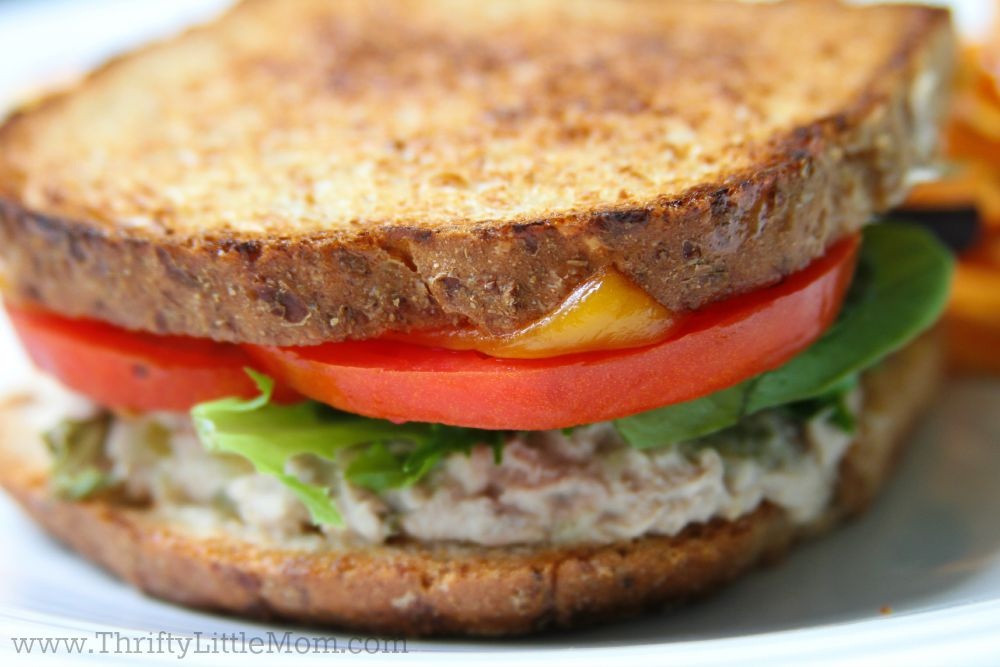 how to make the perfect tuna melt sandwich with cheese