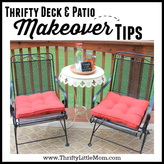 thrifty Deck & Patio Makeover Tips