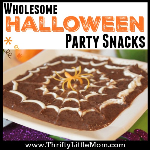 4 Wholesome Halloween Party Snacks your whole family can enjoy!