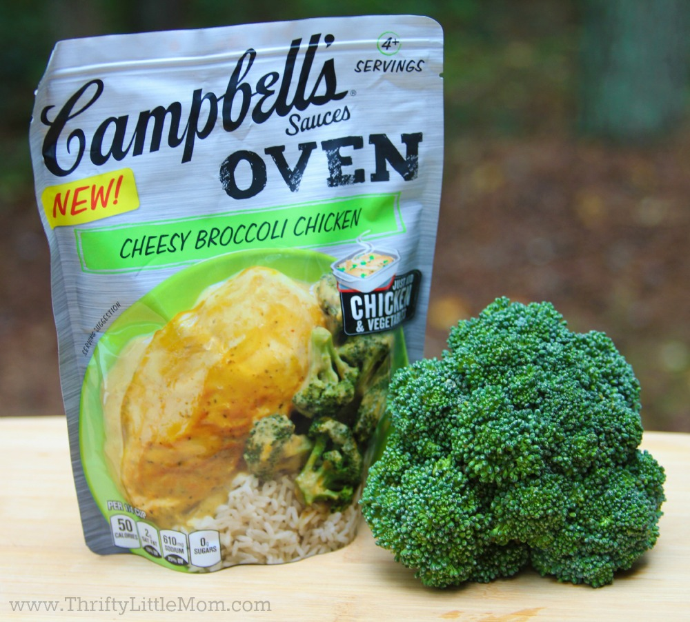 Campbell's Sauces Oven Cheesy Broccoli Chicken