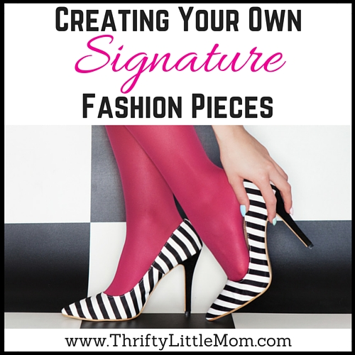 Creating Your Own Signature Fashion Pieces Thrifty Little Mom