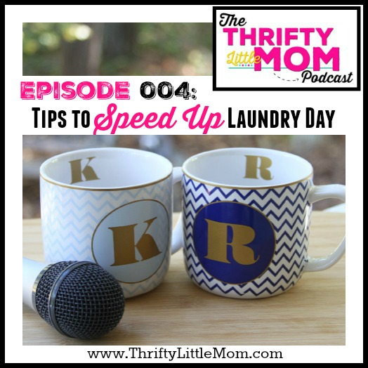 Episode 004- Tips to Speed Up Laundry Day