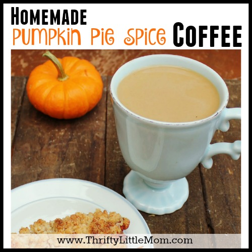 Pumpkin Pie Spice Coffee