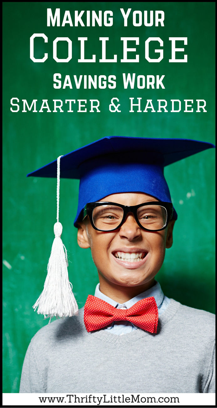 Making Your College Savings Work Smarter & Hareder #ad