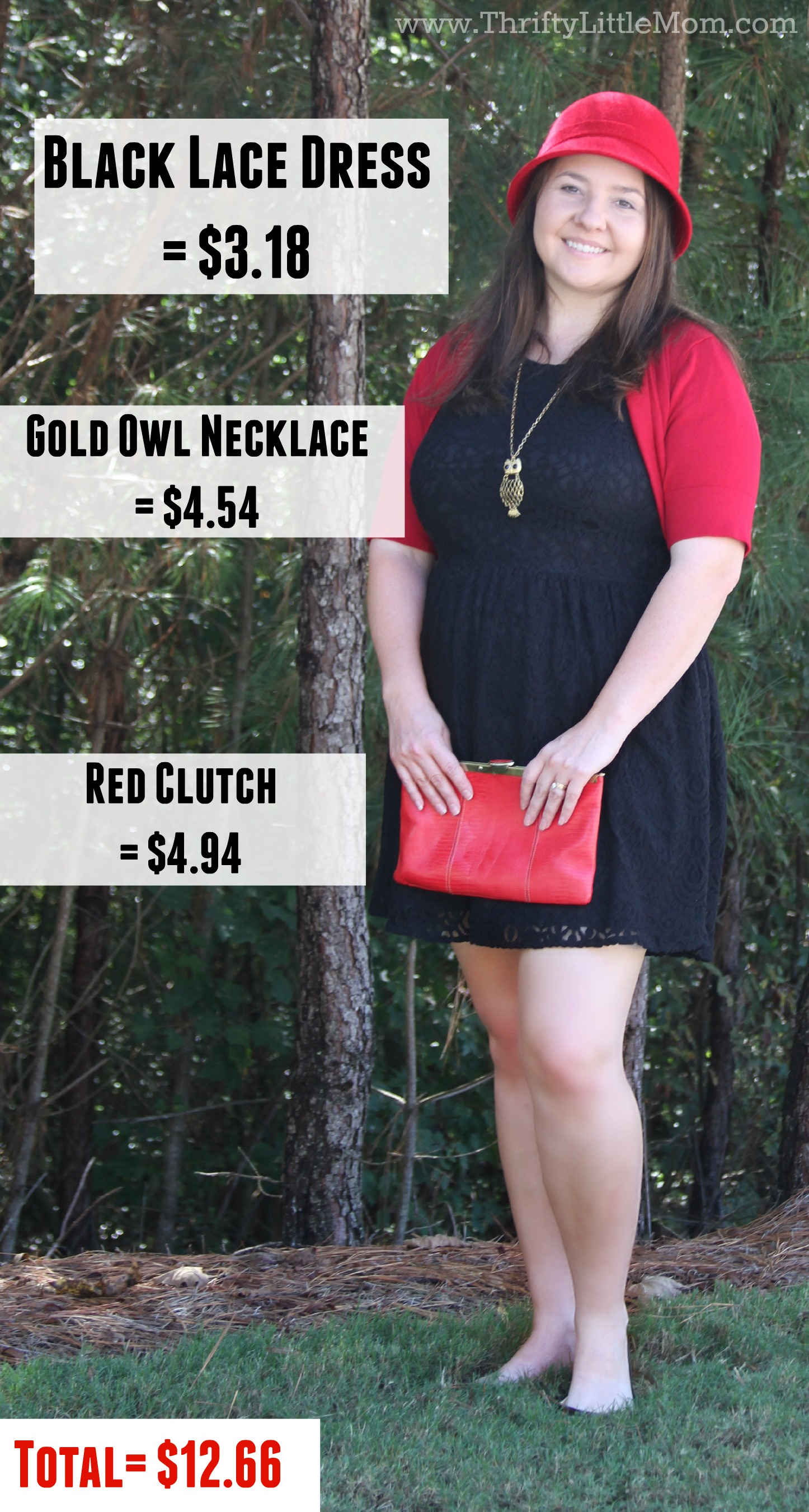 Price Breakdown of Goodwill Outfit 2