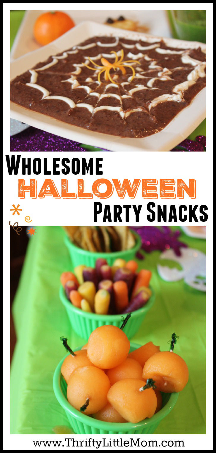 Wholesome Halloween Party Treats