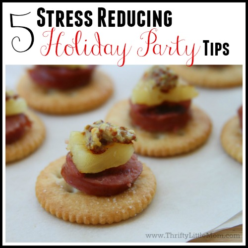 5 Stress Reducing Holiday Party Tips