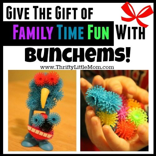 Give the gift of family time fun with bunchems