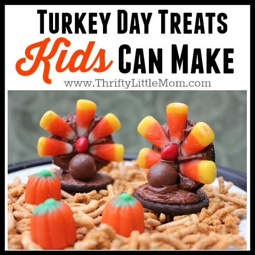 Thanksgiving Treats Kids Can Make