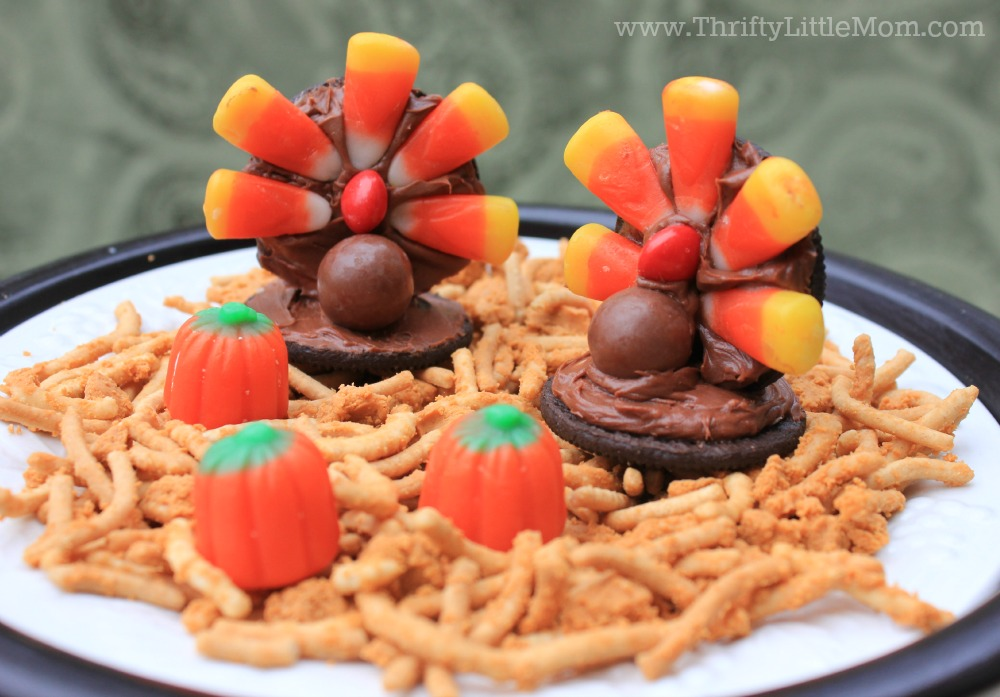 Turkey Day Butterscotch treats