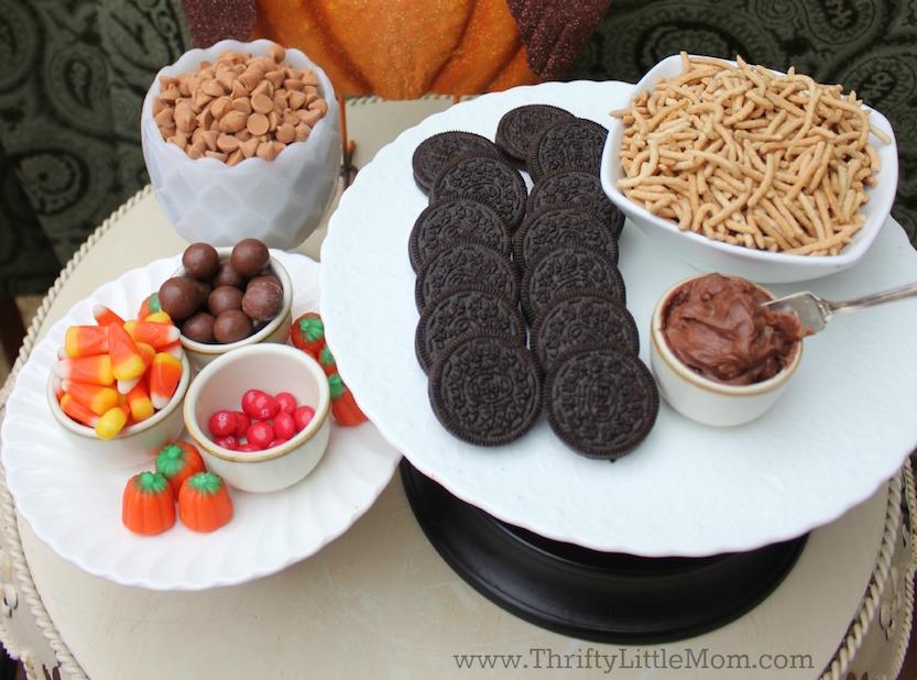 Turkey Day Treats Kids Can Make Supplies