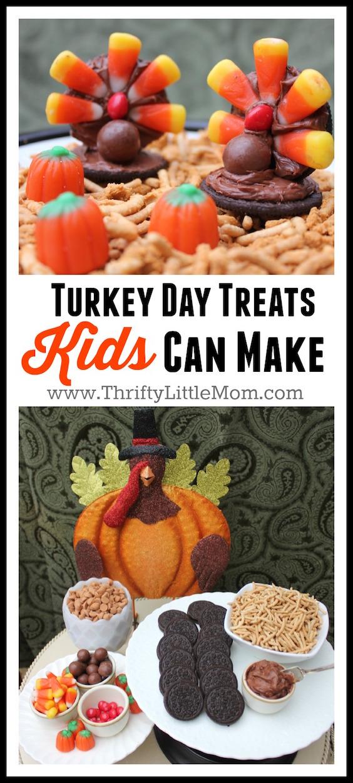 Turkey Day Hercules Style: Turkey Day Treats Kids Can Make » Thrifty Little Mom