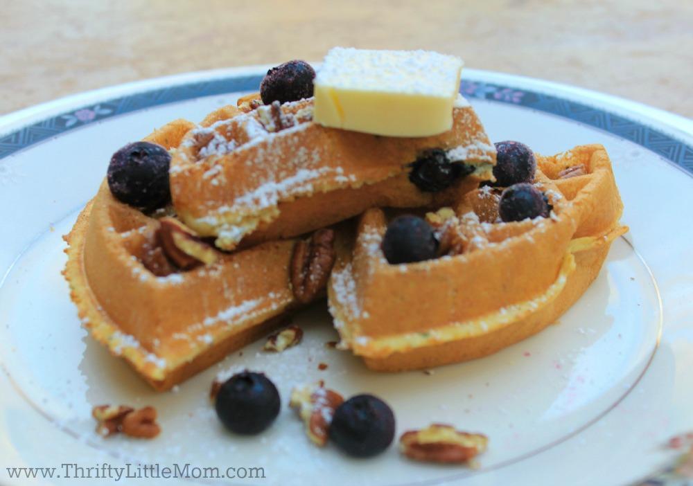 Waffle bar waffle