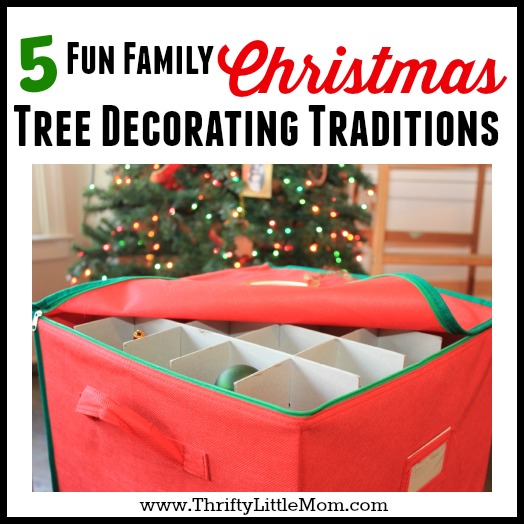 5 Fun Family Christmas Tree Decorating Traditions