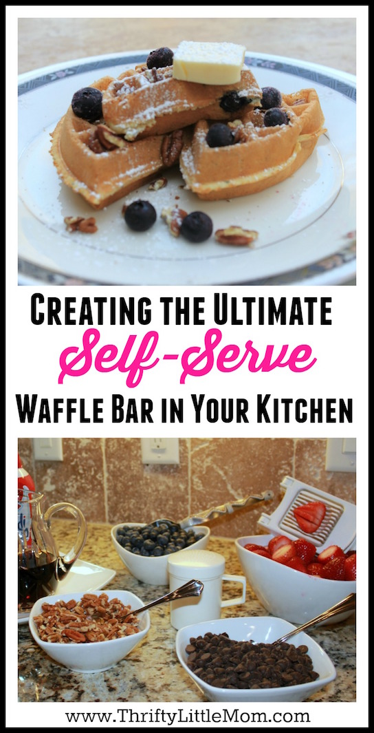 Creating the ultimate self-serve waffle bar in your kitchen
