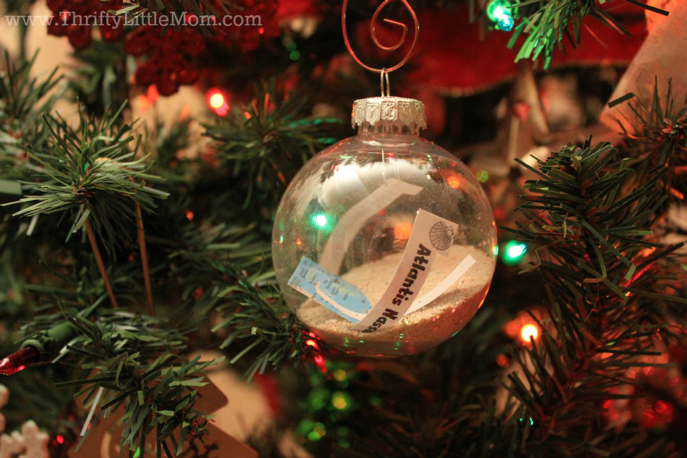 Handmade Beach Memory Ornaments