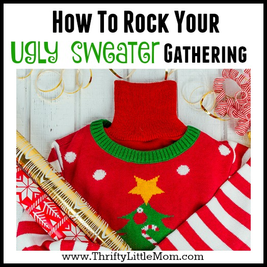 How to Rock Your Ugly Sweater Gathering