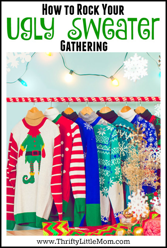 How to Rock an Ugly Sweater Gathering