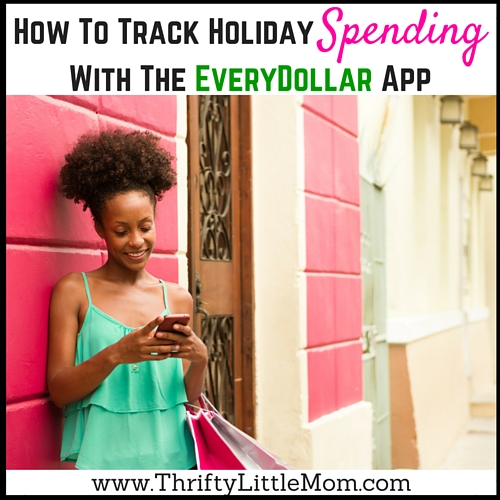 Tracking Holiday Spending with the EveryDollar App