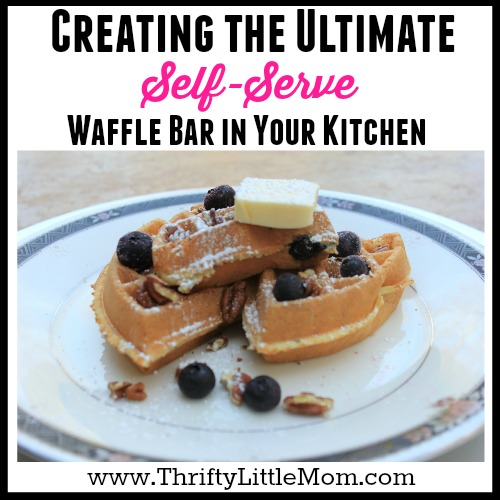 Ultimate Self-Serve Waffle Bar