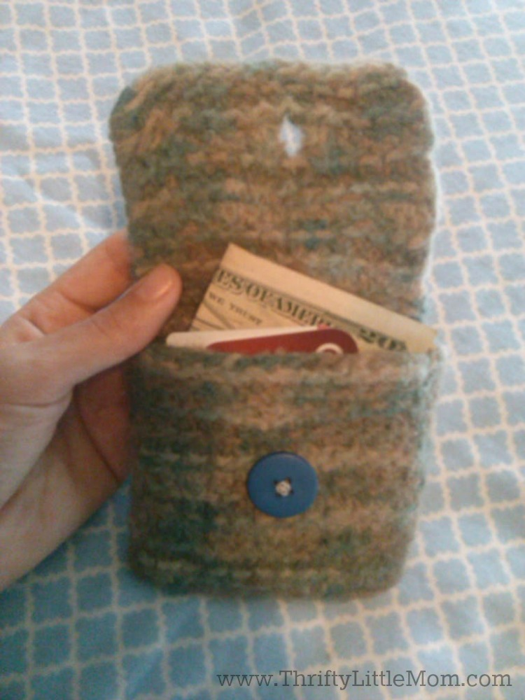 finished change purse