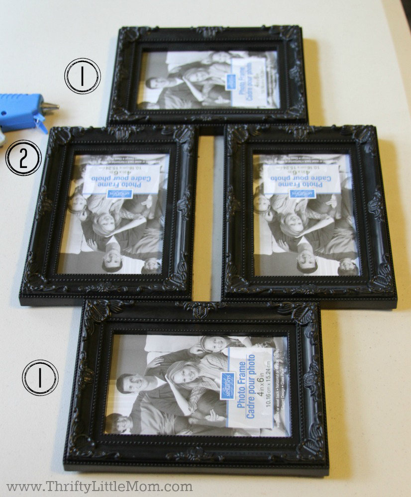 1-2-1 Collage Frame Configuration