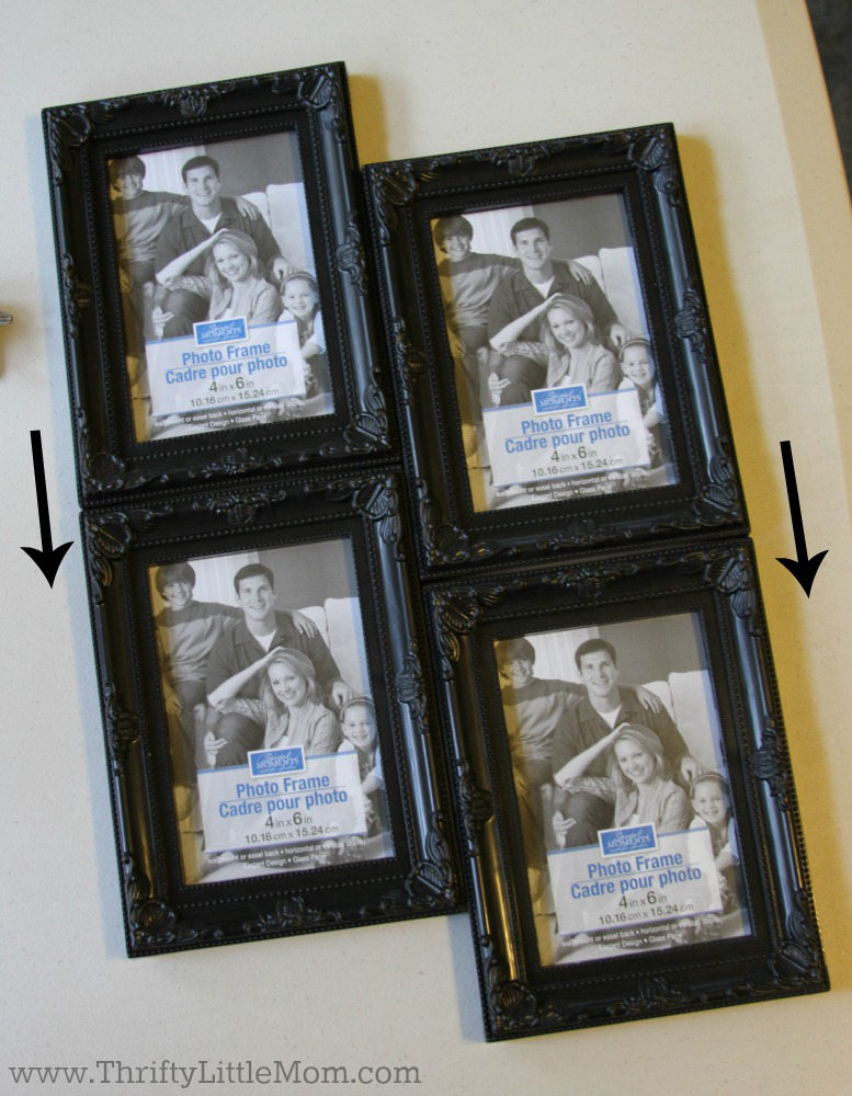 4 Portrait Frame Collage