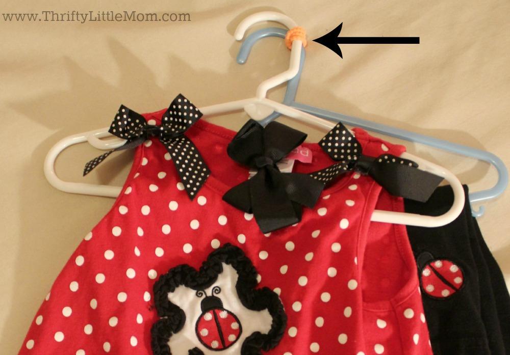 Keeping Preschooler Clothes together